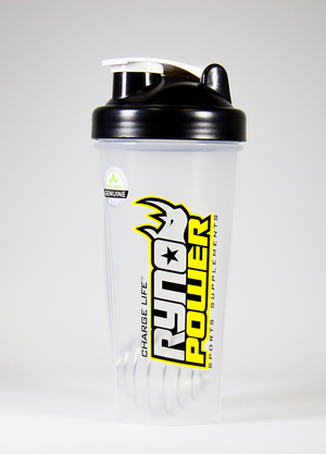 Ryno Power Shaker Klar 830ml