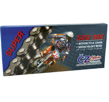 CZ 520 Racing Guld, 118 länkar
