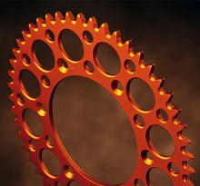 KTM 125-525 90-> SX/SXF 250 Std, Husab. 00-01 Orange