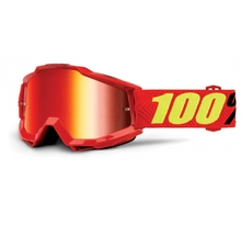 100%, ACCURI SAARINEN - MIRROR RED LENS,