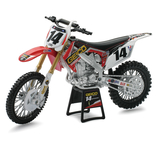1:12 Geico Honda Race Team Bike